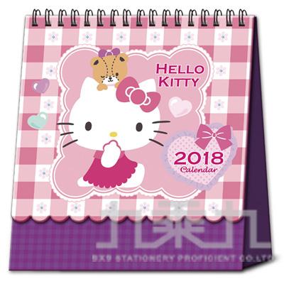 凱蒂貓立體線圈桌曆 CADPKT-032-CT
