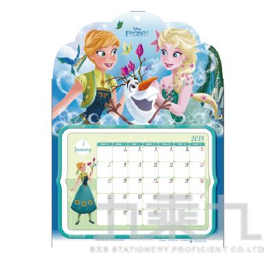 冰雪奇緣A4立體年曆 CAFZ-007-A4-CT