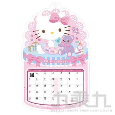凱蒂貓A4立體年曆 CAKT-062-A4-CT
