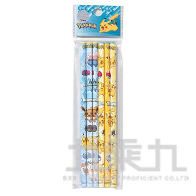精靈寶可夢6入木頭鉛筆 PKPEN60-1