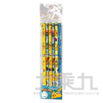 精靈寶可夢6入木頭鉛筆(3) PKPEN60-8
