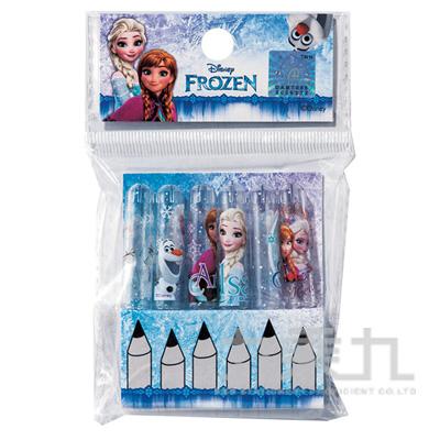 冰雪奇緣木頭鉛筆筆蓋(6入)(2) FRPEN50-5