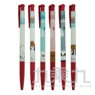 熊熊三賤客0.38原子筆-紅