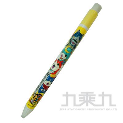 妖怪手錶大三角自動鉛筆黃版 YM01111