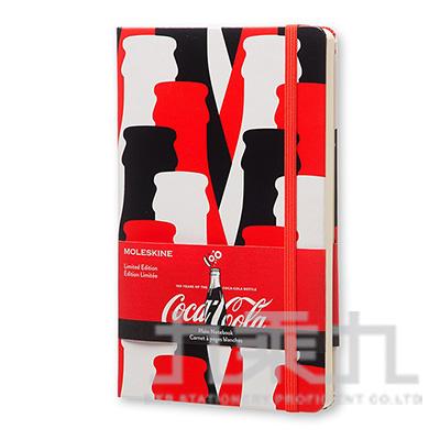 MOLESKINE 2015限量可口可樂素面筆記本-紅