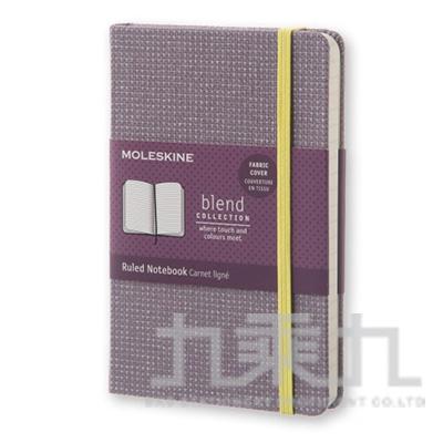MOLESKINE 限量布面橫條筆記本-紫