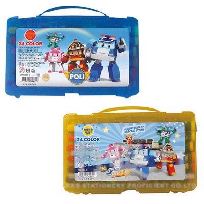 波力24色PP盒水洗彩色筆(3) POCP280-3