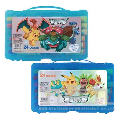 精靈寶可夢24色PP盒水洗彩色筆(2) PKCP280-2