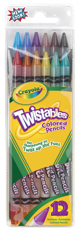Crayola旋轉彩色鉛筆12色 687408