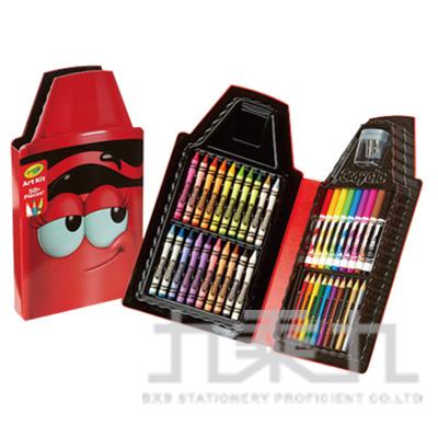 98#Crayola蠟筆娃娃禮盒組-得意紅