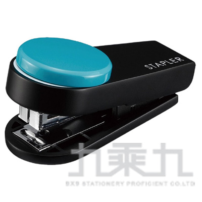 95#迷你手指釘書機-淺藍 HD-10XS