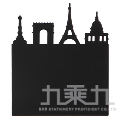 98#鐵塔L型書架(小)-黑 DK-5499A