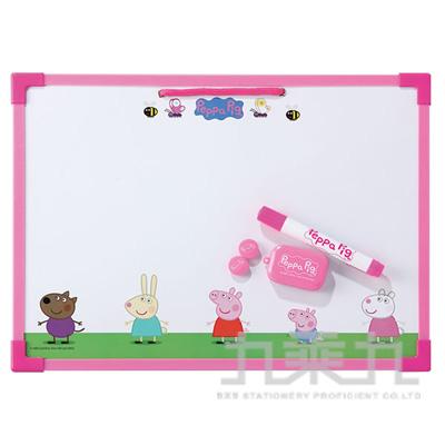 粉紅豬小妹雙面加框留言板 PGWB250-1
