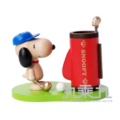 Snoopy史努比木器系列筆筒 1286701