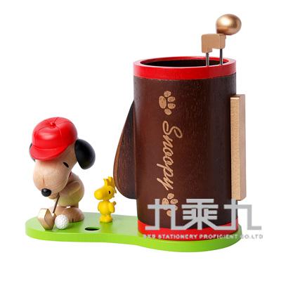 Snoopy史努比木器系列筆筒 1286703