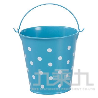 98#多功能萬用鐵桶(小)-藍 DK-5569A