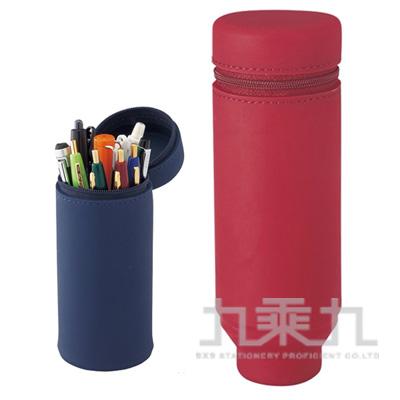 LIHIT矽膠伸縮筆筒(ACTACT)-紅 A-7692-3