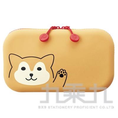 LIHIT柴犬方型拉鍊收納包A-7716-2