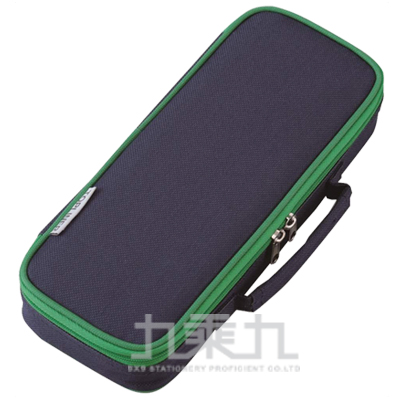 Raymay 超輕大容量附側袋筆袋/深藍 R/M:FSB108K