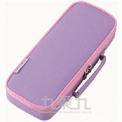 Raymay 超輕大容量附側袋筆袋/薰衣草紫 R/M:FSB108V