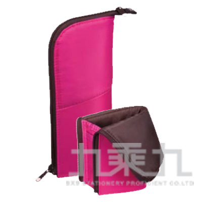 KOKUYO Neo Critz 站立筆袋180 桃粉 KOF-VBF180-4