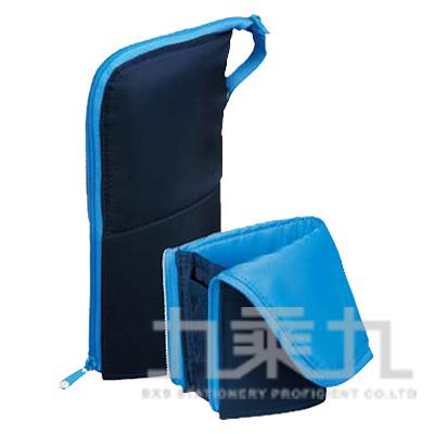 KOKUYO Neo Critz 站立筆袋大容量(水藍) KOF-VBF181-2