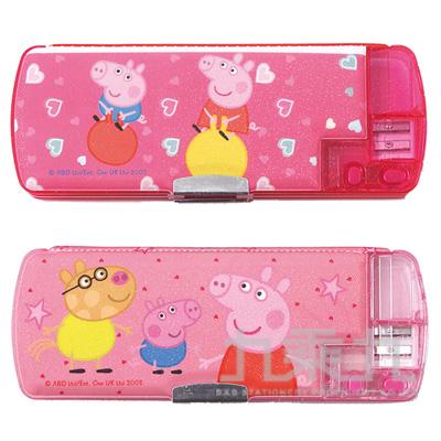 粉紅豬小妹雙削多功能筆盒(2) PGPB250-2