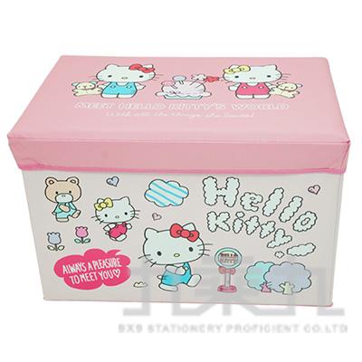 H/B K/T可摺疊收納箱(長方)朋友 KTA1362