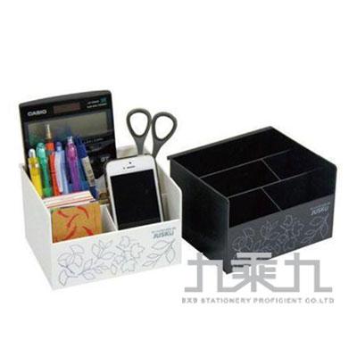 佳斯捷系列 小花車置物盒 黑白2色隨機 8388
