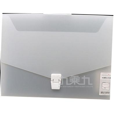 誌揚 PP 半透明(L)公文盒12FB-01L