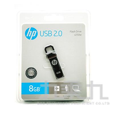 63#HP v250w 8GB USB2.0勾勾隨身碟 C01202HP