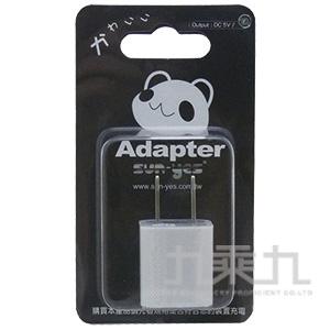 熊貓圖案USB插頭 SUNYES-002PD