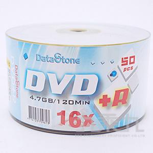 DataStone時尚白DVD+R 16X4.7GB(50P)