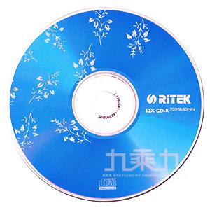 RIDATA CD-R 52X 布丁-藍(10入