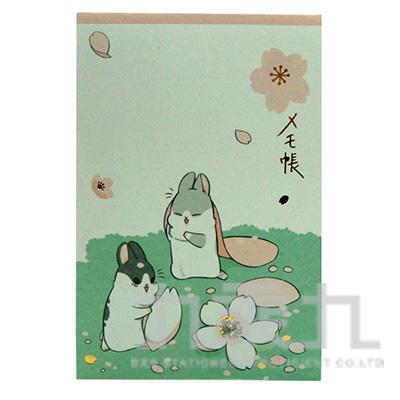 ㄇㄚ幾6色便條紙(櫻花) 31001