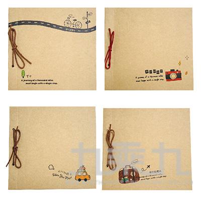 牛皮DIY旅行記錄本 187659