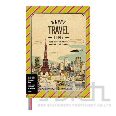 2018 50K跨年(東京鐵塔)車線書衣手帳-貓行李