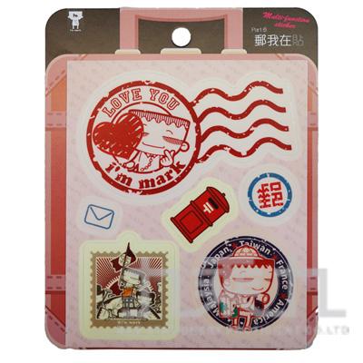 馬克萬用貼紙(6)郵我在貼 BHM163306