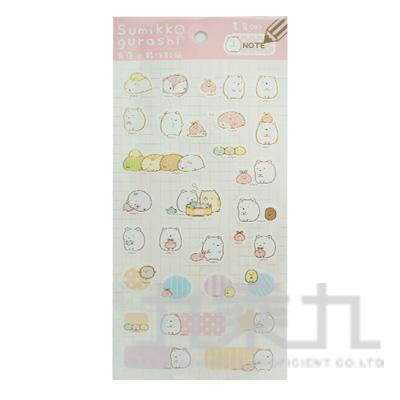 小夥伴貼紙-白熊 SGSA0101