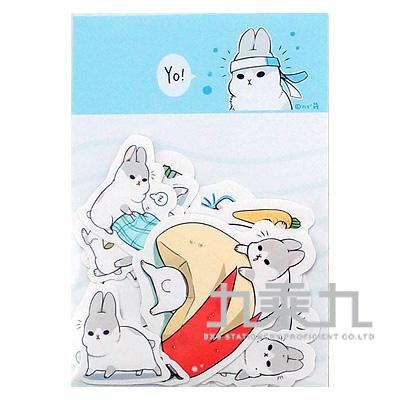 防水貼紙包(ㄇㄚ幾兔) 16914