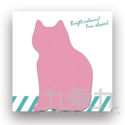 動物造型便條本-貓咪 61033(50張/本)