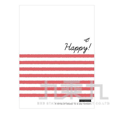 彩藝16K特案筆記-紅線 BJ16T018-05