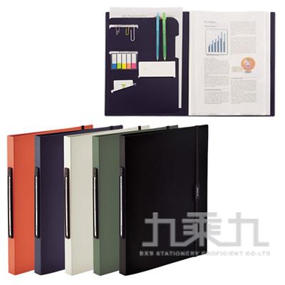 LIHIT附繩帶多功能20頁資料簿Smart Fit-米白N-7510-16