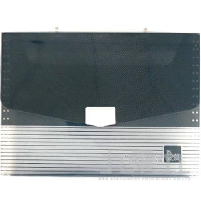 82#時尚玩色A4公事袋(黑) PBA-1076K