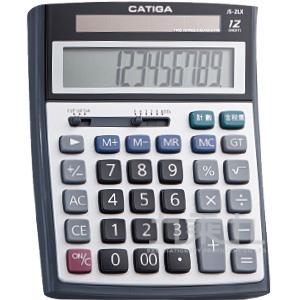 CATIGA12位數大太陽計算機 JS-2LX