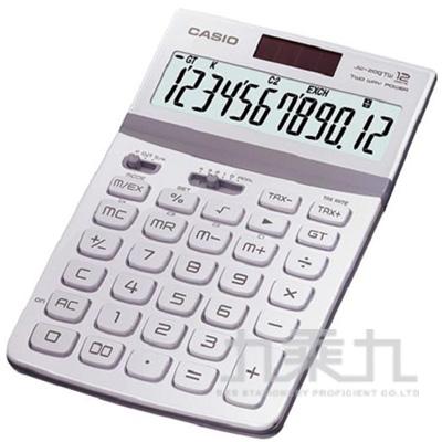 CASIO 12位元計算機 JW-200TW