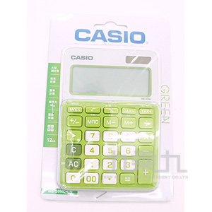 CASIO 12位元計算機 MS-20NC-GN