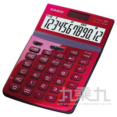 CASIO 12位計算機 JW-200TW-RD-S紅色