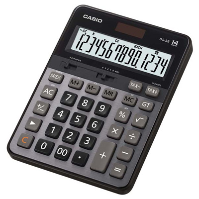 CASIO 14位元計算機 DS-3B