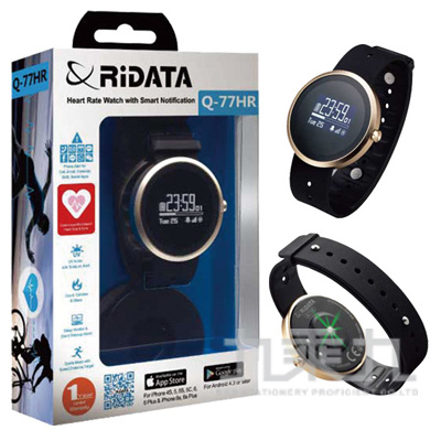94#RIDATA錸德Q77智慧型心率運動手錶 Q77